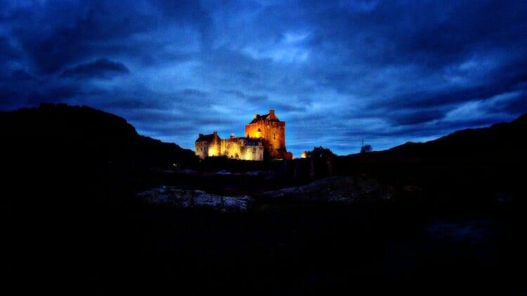 photo, image, eilean donan castle, scotland