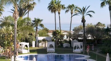 photo, image, Marbella, hotel grounds