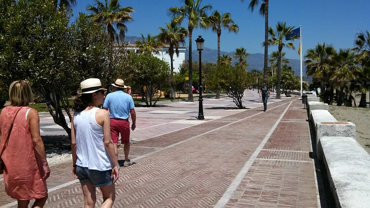 photo, image, walk, marbella