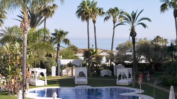 photo, image, Marbella, hotel grounds