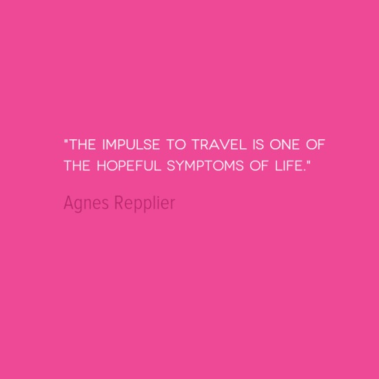 photo, image, travel quote, repplier, hopeful symptom