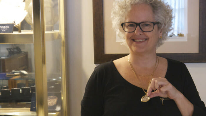 A $32,000 pendant from the Mel Fisher Maritime Museum