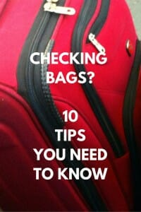 Carry-on not enough? Check out our Checked Baggage tips.