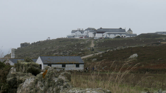 And the buildings at Land's End.