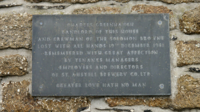 And another plaque, a reminder that many a sole has been lost in the sea which looks so beautiful to me.