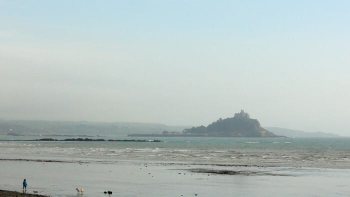 View of St. Michael's Mount.