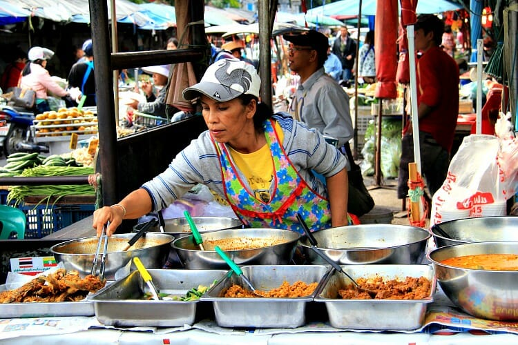 photo, image, street food, chiang mai, thailand