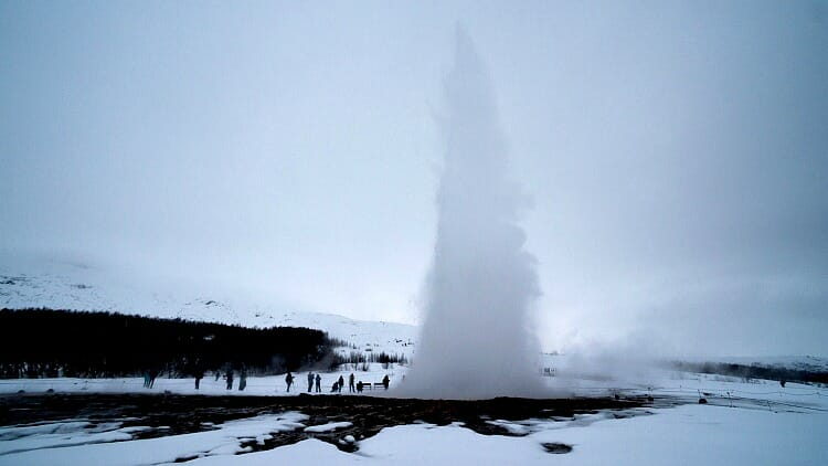 photo, image, geyser, iceland