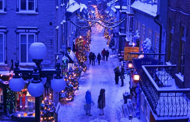 photo, image, quebec city, lower town