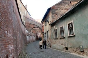 photo, image, street, sibiu, romania