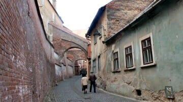 photo, image, street, sibiu, romania