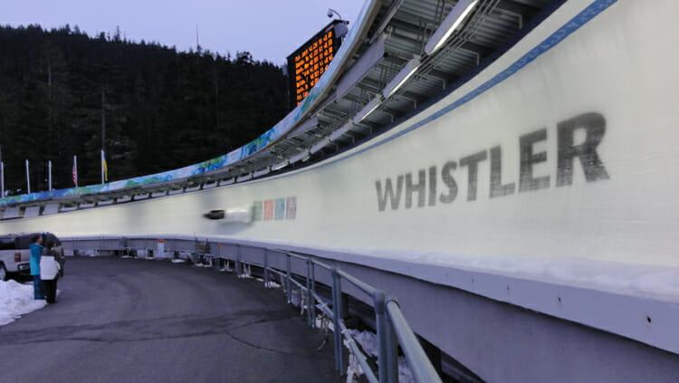 bobsleigh run, meaningful travel