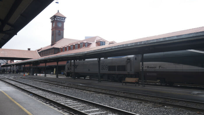 I believe this is Seattle station but, it's been a while and for some reason I didn't label this. Perhaps someone could confirm or correct me.