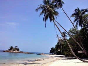 photo, image, beach, kapas island