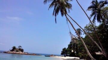 photo, image, beach, kapas island