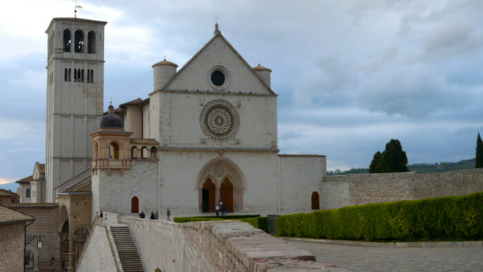 sounds of travel, bells, Basilica of San Francesco d'Assisi.