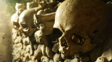 photo, image, catacombs, paris