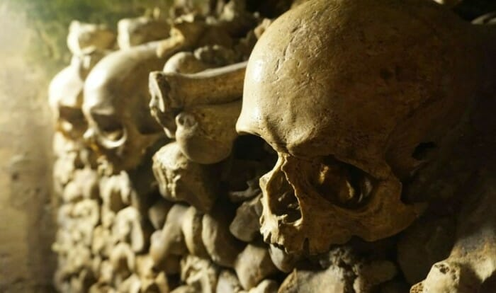 photo, image, catacombs, paris