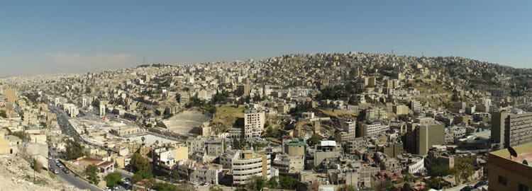 how to call amman jordan from canada