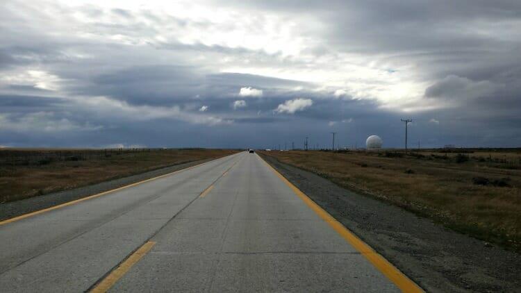 photo, image, road, patagonia, punta arenas