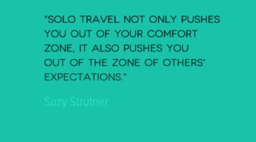 Best Solo Travel Quotes: Food for Thought