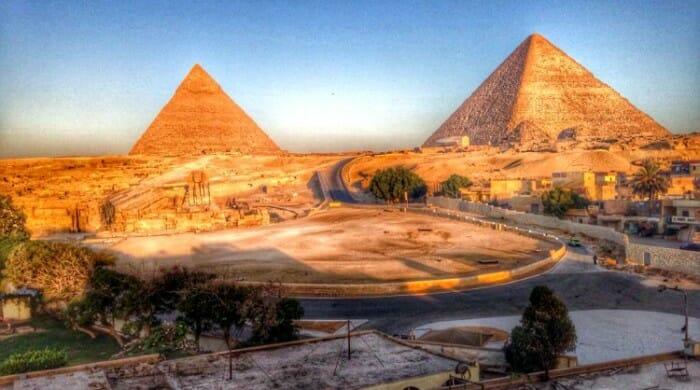 photo, image, giza, egypt, pyramids
