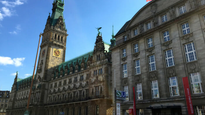 Hamburg City Hall.