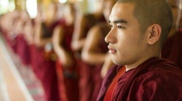 photo, image, monks in myanmar
