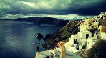 photo, image, oia, greece, santorini