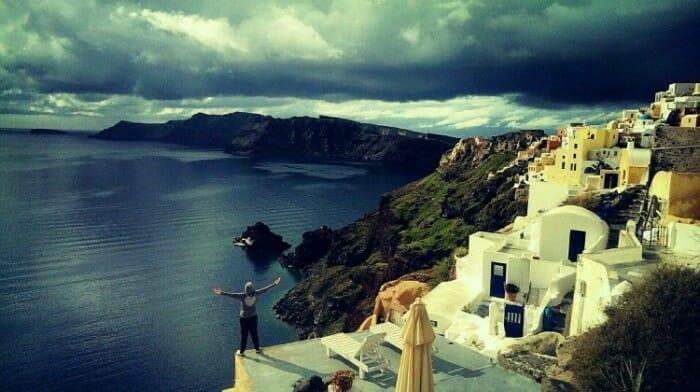 oia, greece photos, santorini