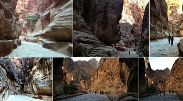 photo, image, petra, jordan, siq