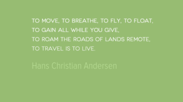 photo, image, travel quote, to travel is to live, hand christian andersen