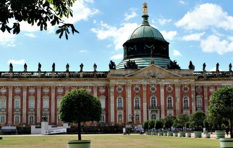photo, image, palace, potsdam, berlin, germany