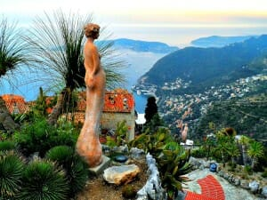 photo, image, eze, france, statue