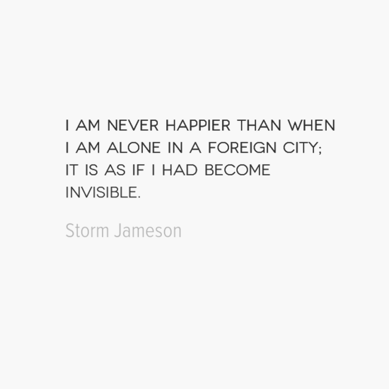 photo, image, best solo travel quotes, foreign city, storm jameson