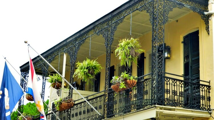 photo, image, balcony, new orleans