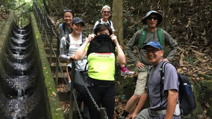 The Hong Kong Hiking Group.