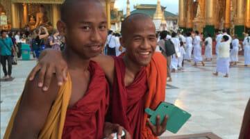 The Shwedagon Pagoda of Yangon