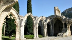 photo, image, bellapais abbey, cyprus