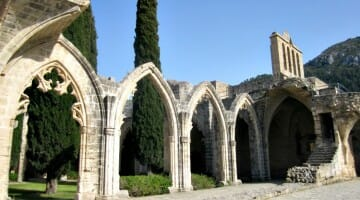 photo, image, bellapais abbey, cyprus