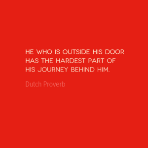 Travel Quote of the Week: The Hardest Part of Any Journey
