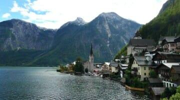 photo, image, hallstatt, austria