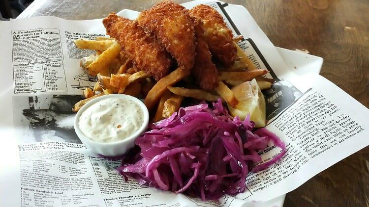 photo, image, fish and chips, jacks gastropub, ontario's southwest