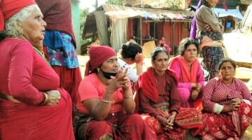 photo, image, women, sauraha