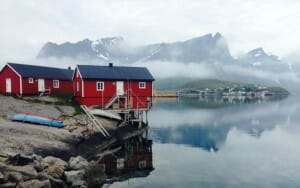 photo, image, hamnoy, norway