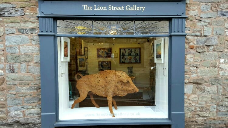 photo, image, lon street gallery, hay-on-wye