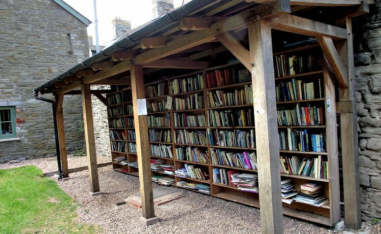 photo, image, honor book store, hay-on-wye, wales