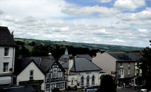 photo, image, houses, hay-on-wye, wales