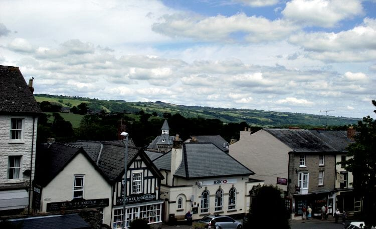 photo, image, houses, hay-on-wye, wales