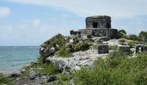 photo, image, tulum, mexico, ruins